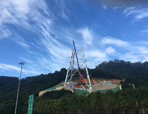 海南风电大型测风塔